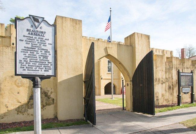 Beaufort Arsenal Entrance