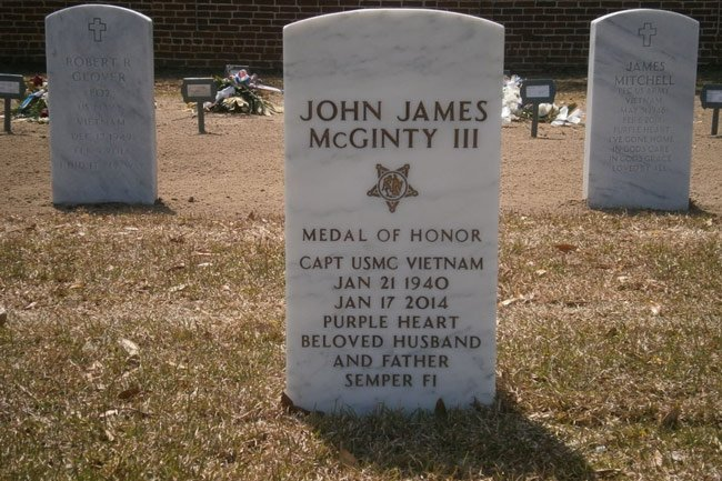 Beaufort Cemetery Medal Of Honor