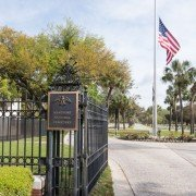 Beaufort National Cemetery Entrance