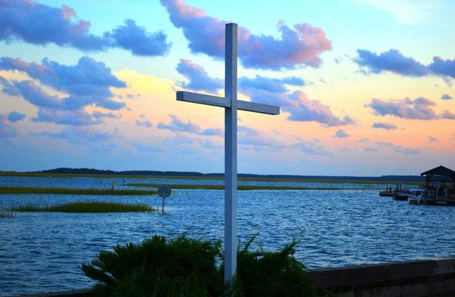 Belin Seawall Cross