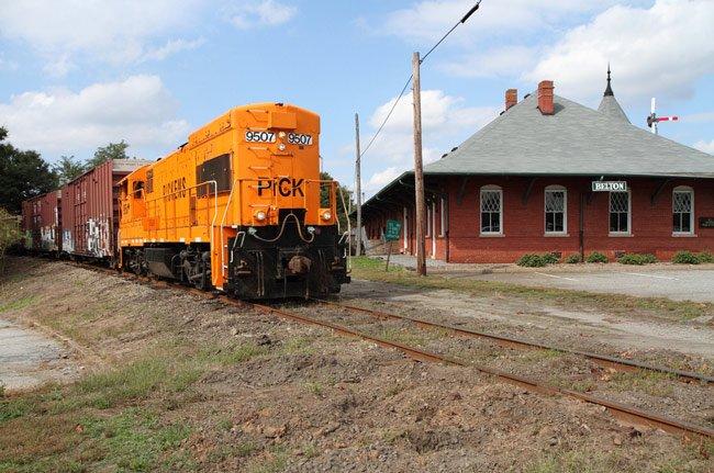 Belton Depot Train
