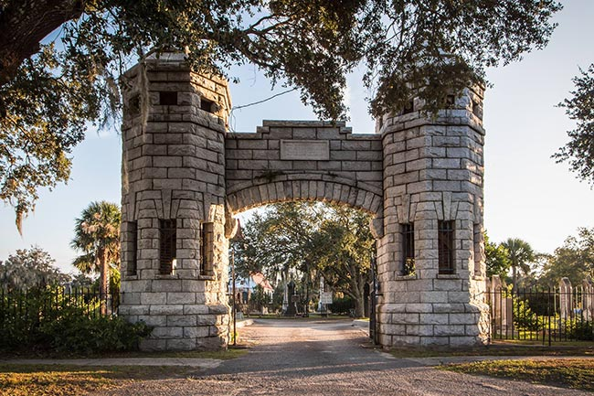 Bethany Cemetery Entrance, Charleston
