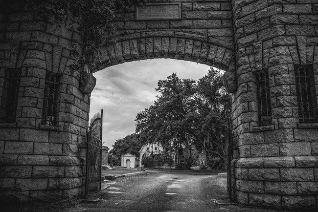 Bethany Cemetery Entrance