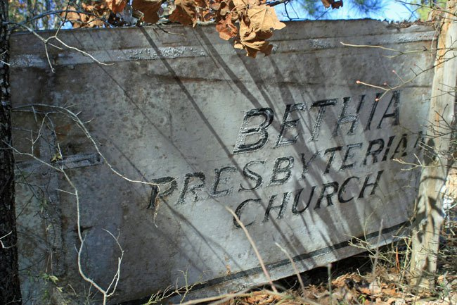 Bethia Presbyterian Marker