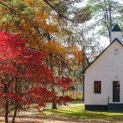 Bethlehem Church, Fall, Luray