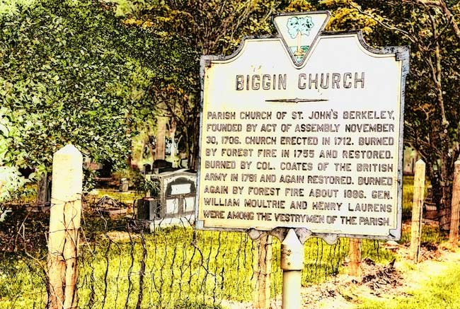 Biggin Church Marker