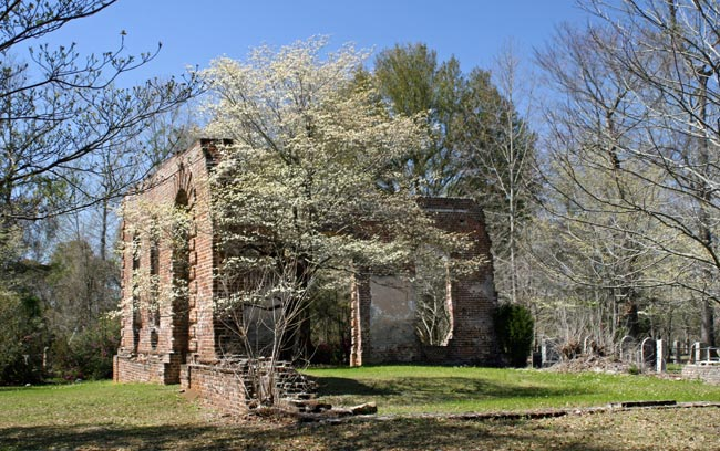Biggin Church Ruins And Cemetery