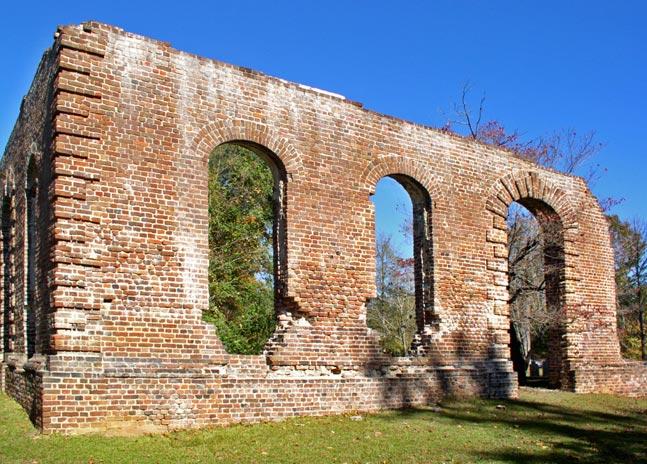 Biggin Ruins