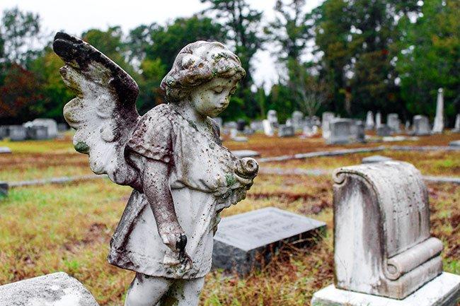 Black Creek Cemetery Statuary