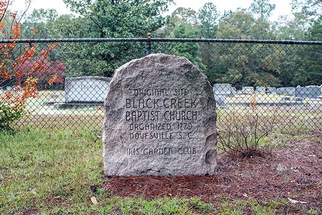 Black Creek Marker