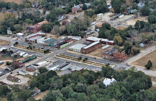 Blackville Aerial