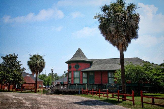 Blackville SC Train Depot