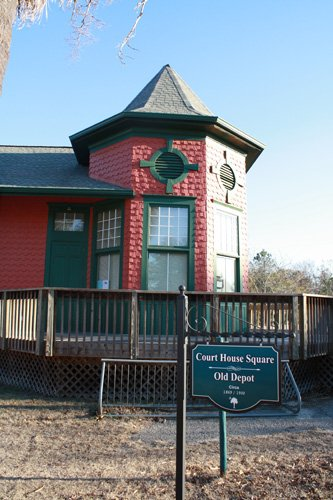 Blackville Train Depot