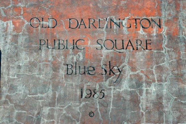 Blue Sky Mural Darlington