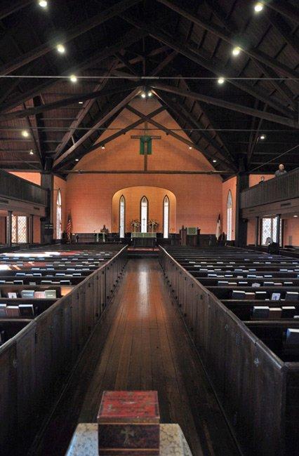 Bluffton Church Interior