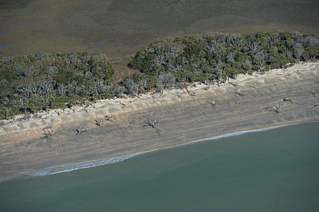 Boneyard Beach Aerial