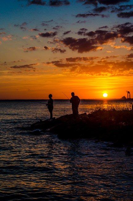 Bonneau Beach Fishing