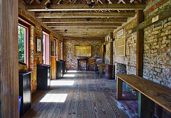 Boone Hall Cabin Interior