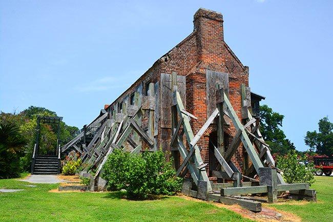Boone Hall Plantation Cotton Gin Restoration