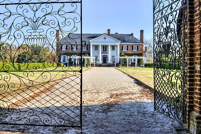 Boone Hall Plantation Front Gate