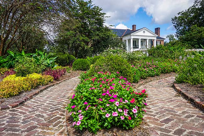 Boone Hall Plantation, Garden View