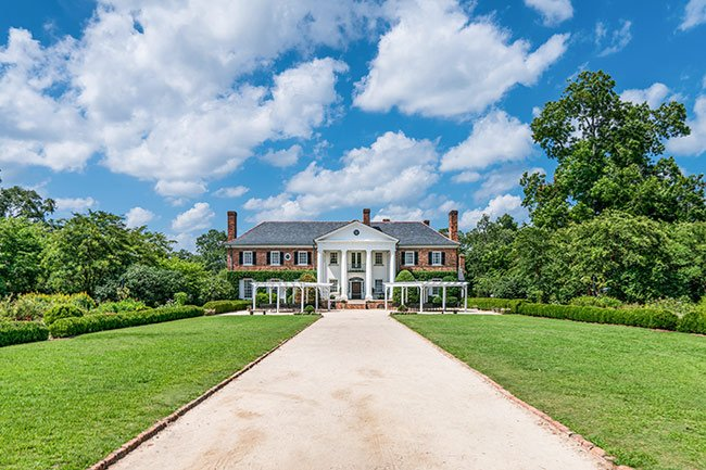 Boone Hall Plantation House, Main Approach