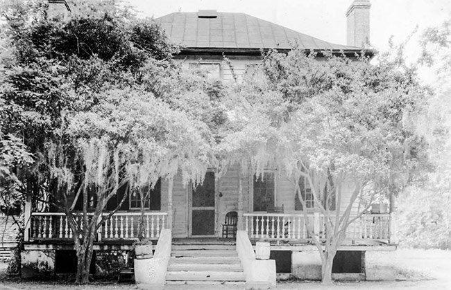 Boone Hall Plantation, Original House