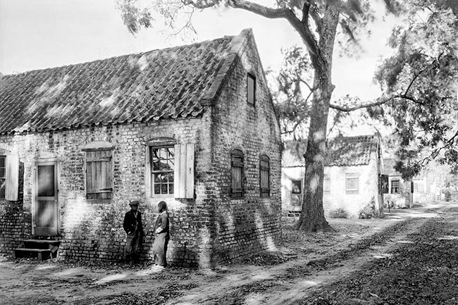 Boone Hall Slave Cabins, 1930s