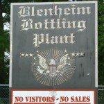 Blenheim's Sign