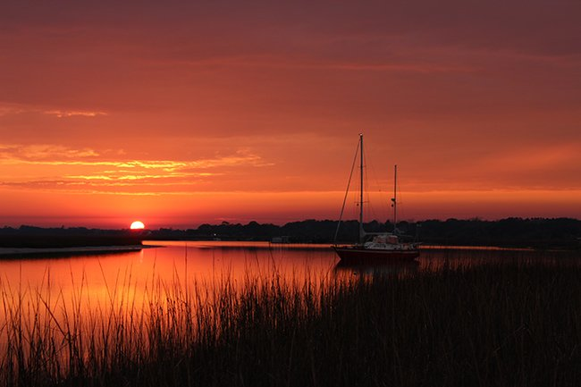 Folly River Sunset