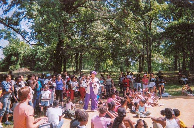 Brainerd Institute Festival Crowd