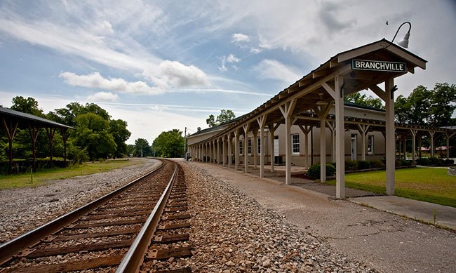 Branchville railroad museum orangeburg county sc for Railroad stations for sale