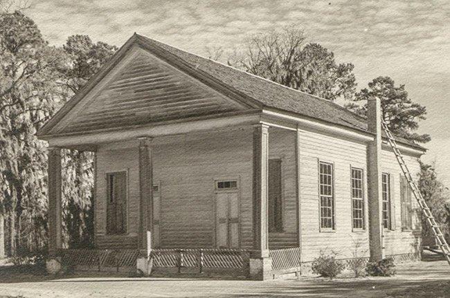 Brewington Church, Historic Photo