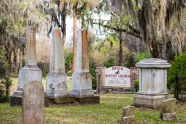 Brick Church Cemetery - Penn Center