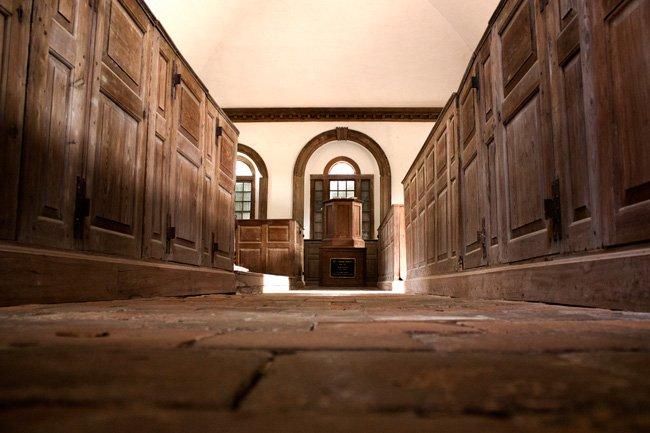 Brick Church Wambaw Interior