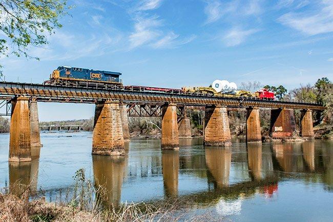 Bridge Over Congaree River