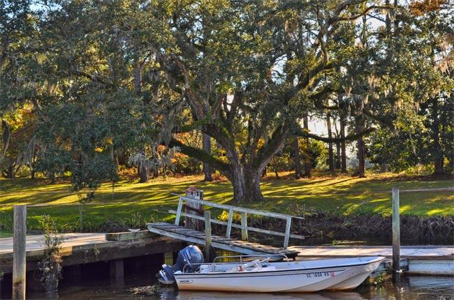 Brookgreen Gardens Boat