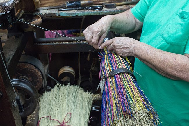 Susan Simpson Creating Brooms