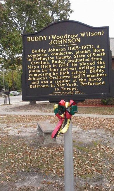 Buddy Johnson Marker Back