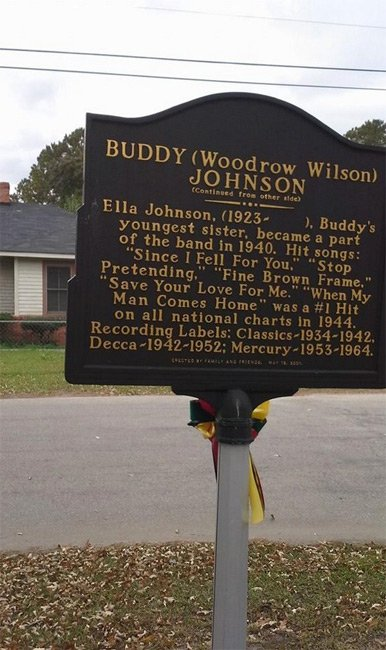 Buddy Johnson Marker