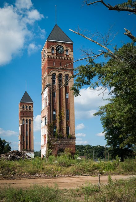 Buffalo Mill Clock Tower