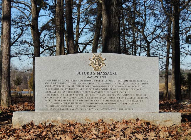 Bufords Memorial