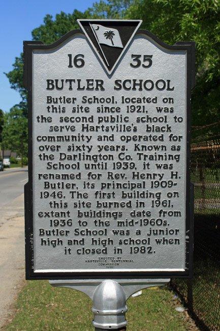 Butler School Marker