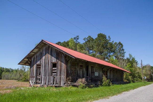 Cades Train Depot