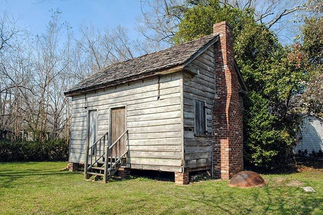Dantzler Plantation Slave Cabin Calhoun Museum