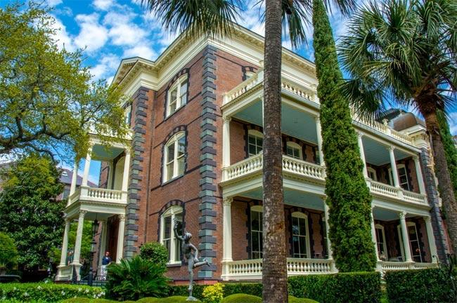 Calhoun Mansion Downtown Charleston