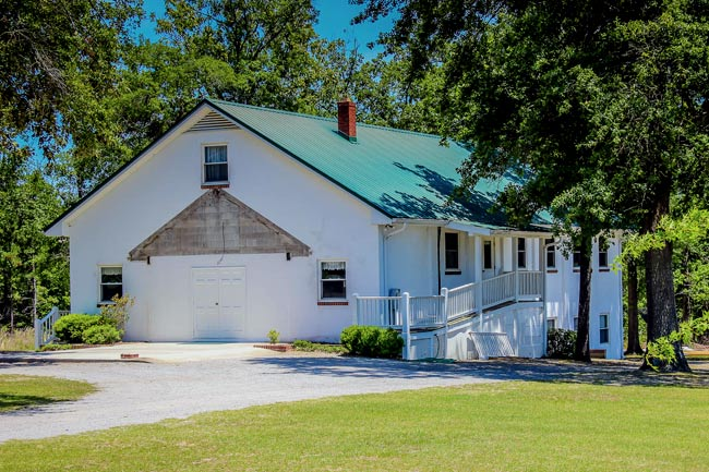Calvery Mennonite Church in Blackville, SC