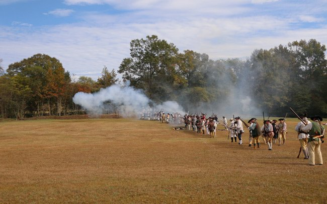 Camden Revolutionary War Battle