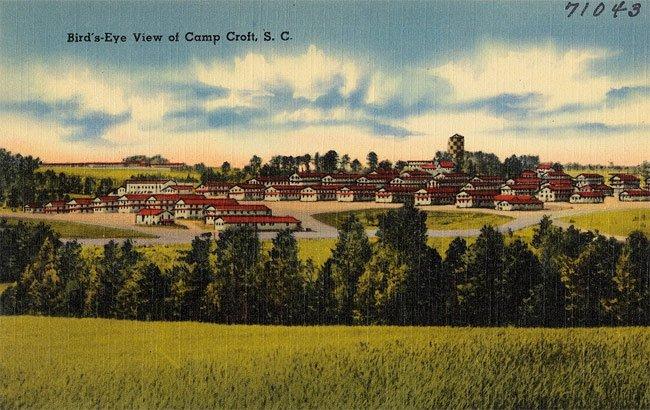 Camp Croft Postcard