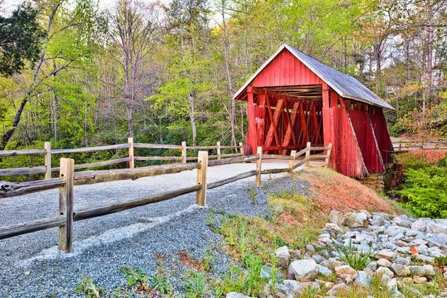 Campbell's Bridge Springtime